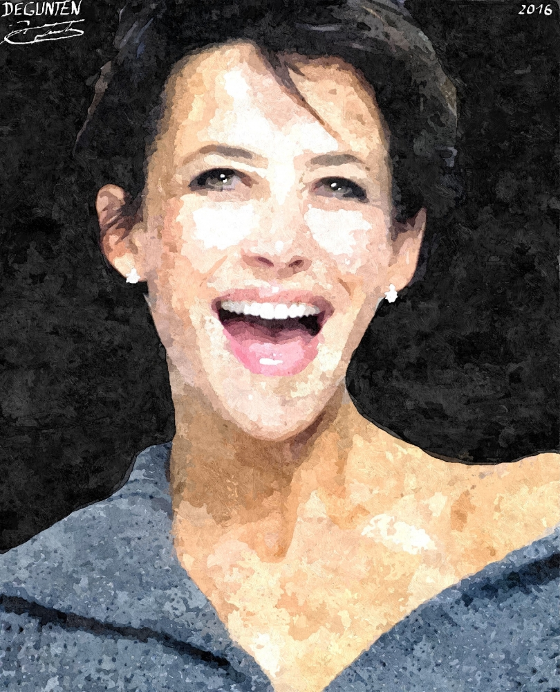 Sophie Marceau by JIM